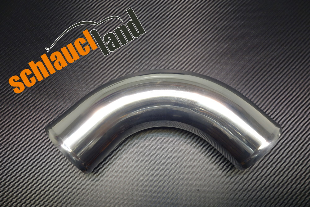 Alu-Bogen 90° Außendurchmesser 102mm