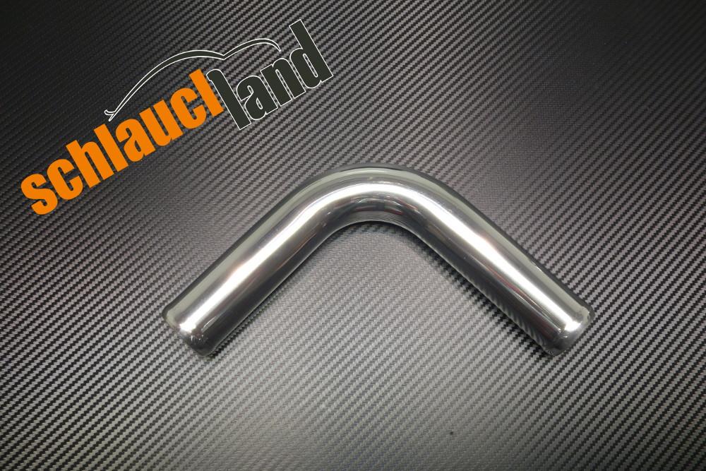 Alu-Bogen 90° Außendurchmesser 30mm