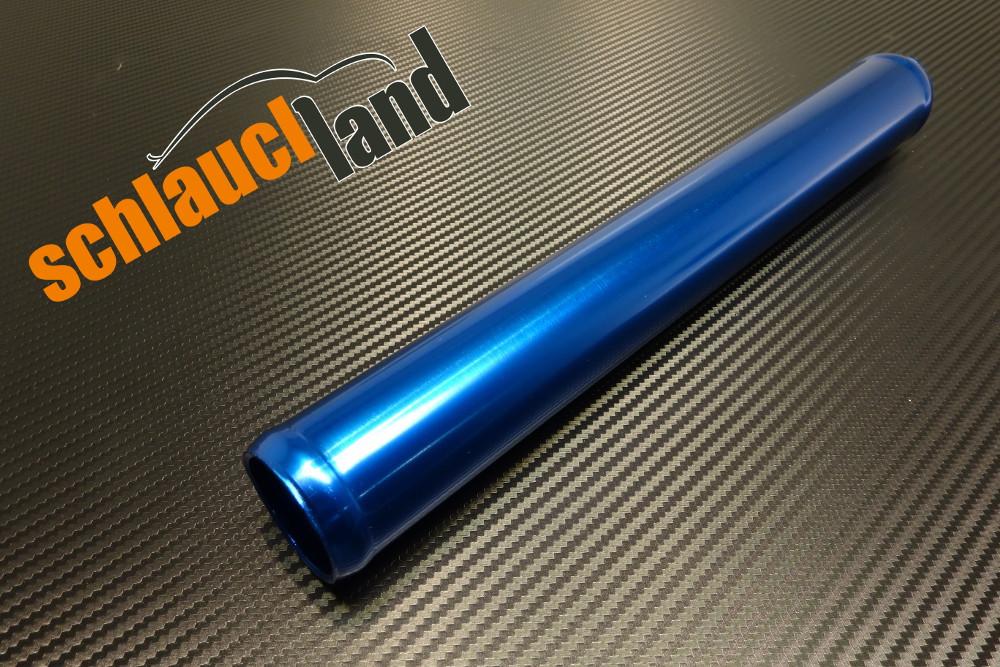 Alu-Rohr 30cm Außendurchmesser 38mm blau eloxiert