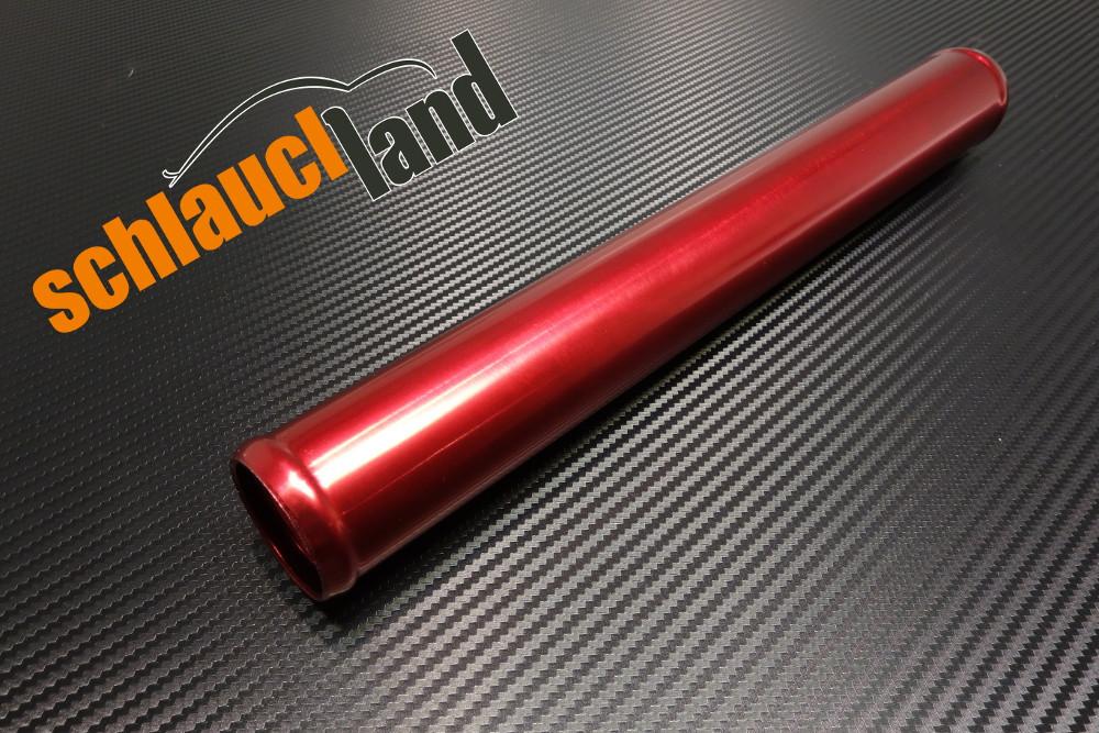 Alu-Rohr 60cm Außendurchmesser 30mm rot eloxiert