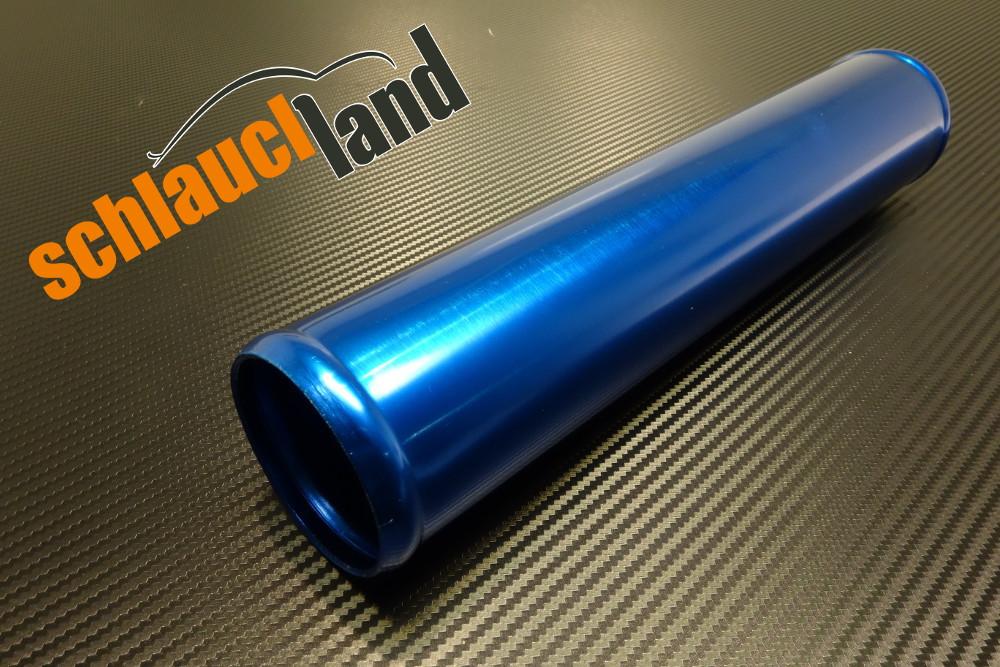 Alu-Rohr 30cm Außendurchmesser 60mm blau eloxiert