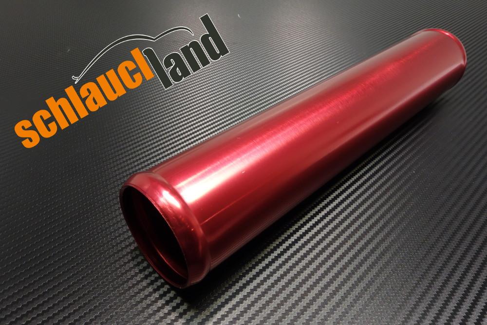 Alu-Rohr 30cm Außendurchmesser 64mm rot eloxiert