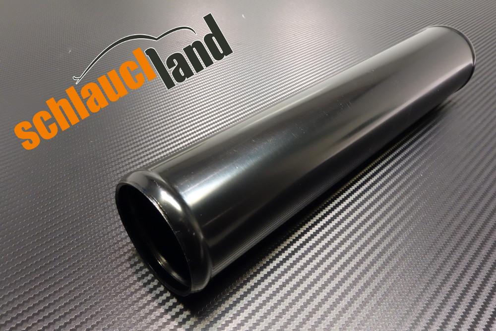 Alu-Rohr 30cm Außendurchmesser 54mm schwarz eloxiert