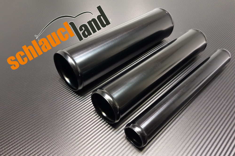 Alu-Rohr 60cm Außendurchmesser 57mm schwarz eloxiert