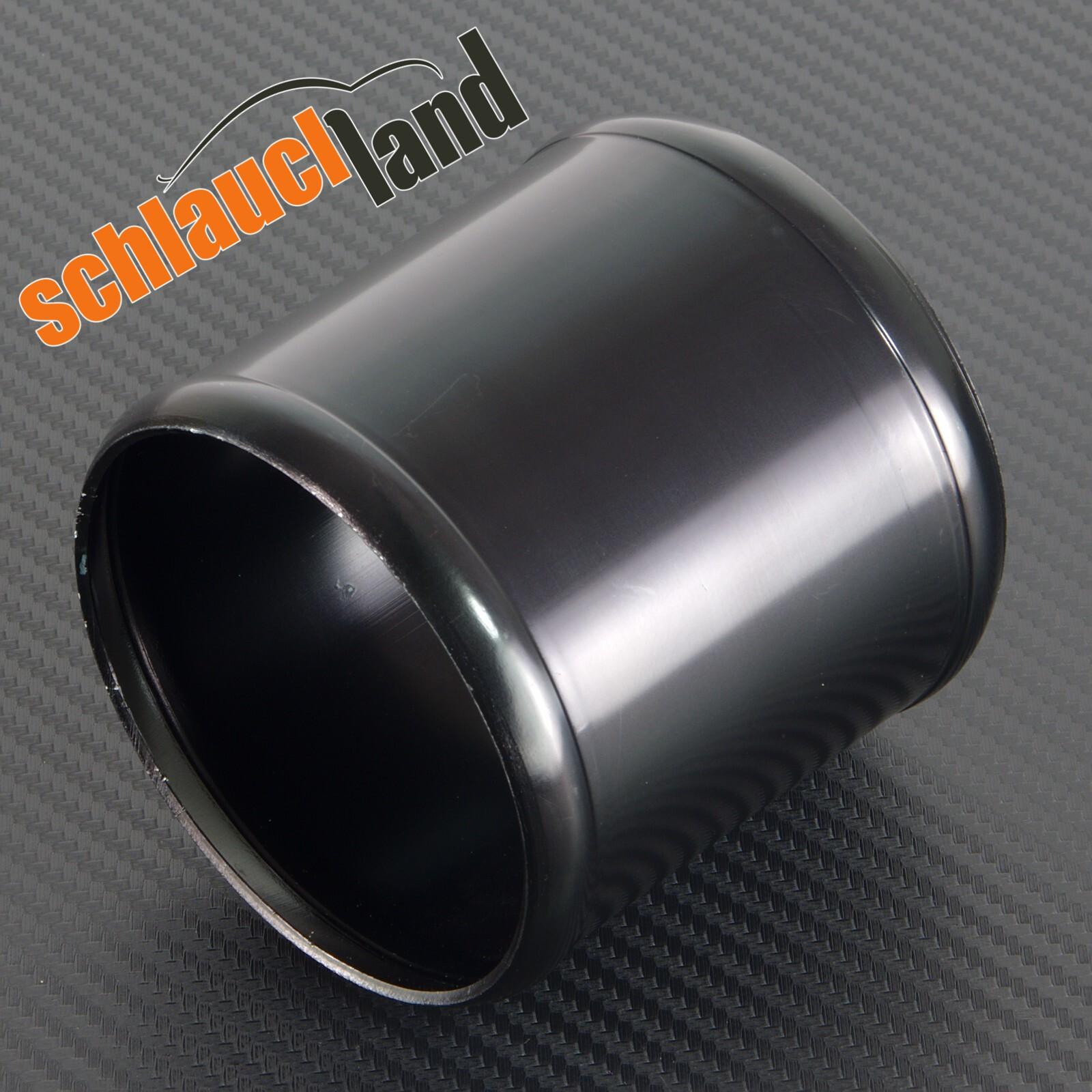 Alu-Verbinder Außendurchmesser 80 mm schwarz eloxiert