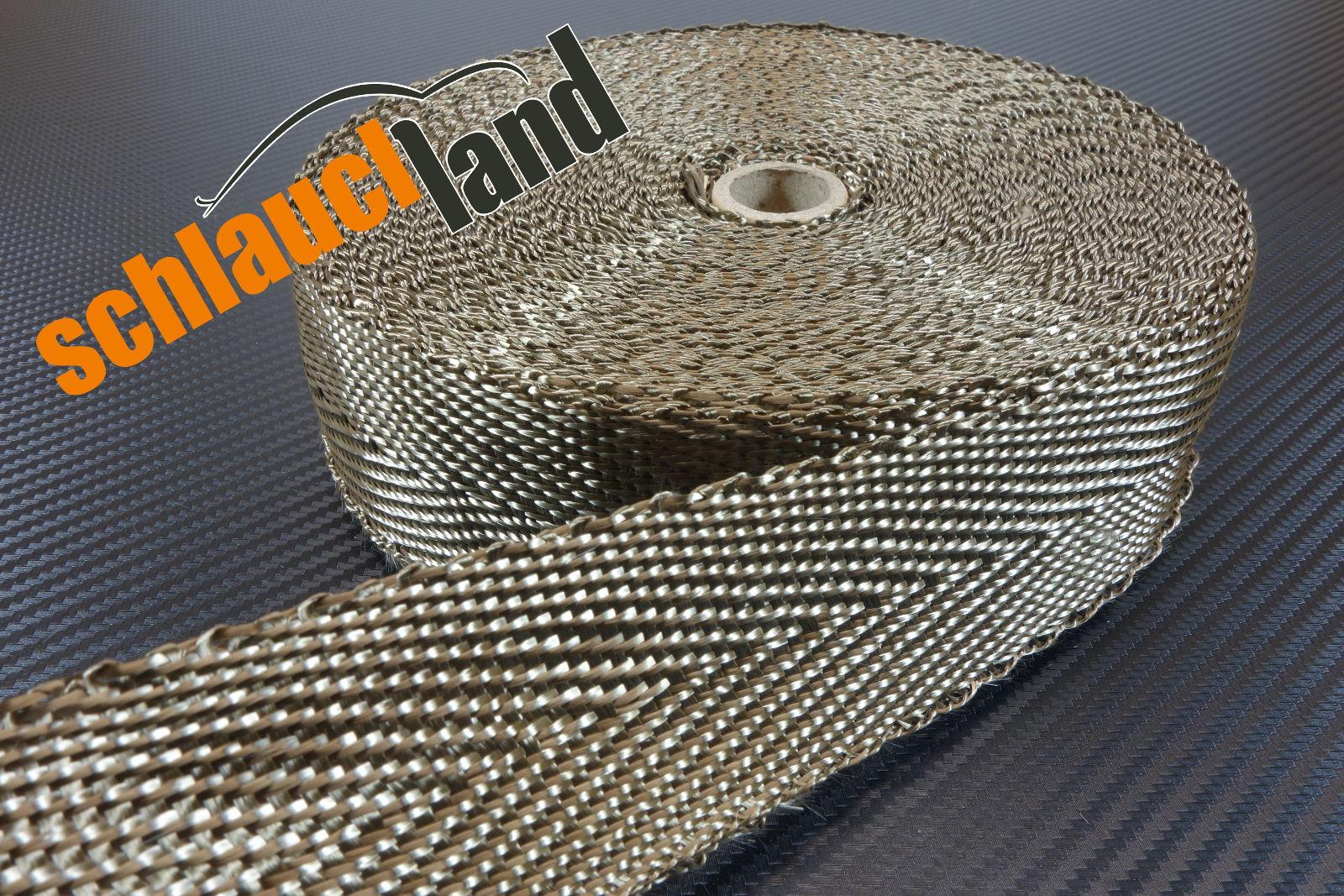 Basalt Hitzeschutzband 50mm x 20 Meter