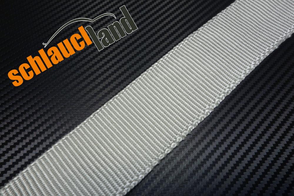 Silica Hitzeschutzband 50mm x 10 Meter + 10 Kabelbinder