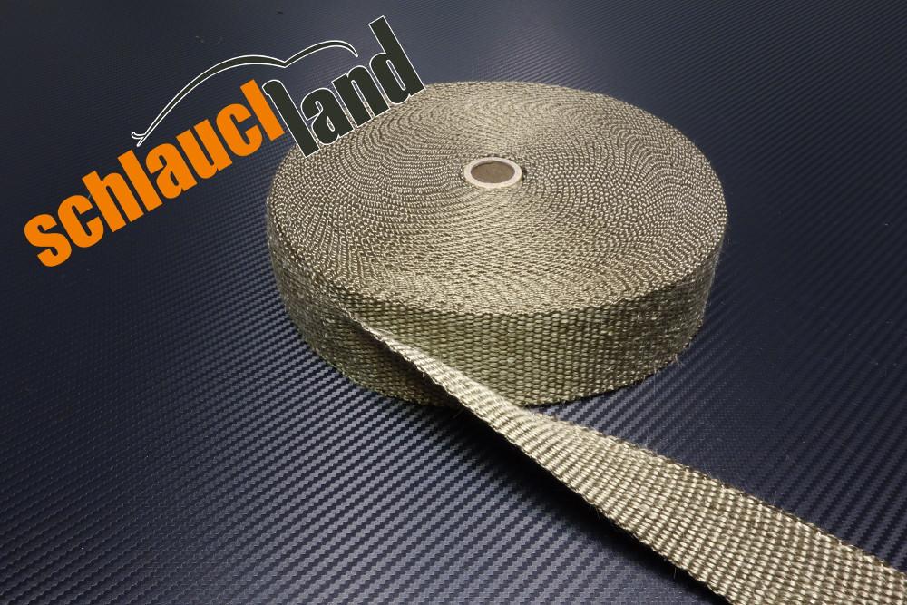 Titan Hitzeschutzband 25mm 1400°C  5,10,15,20,30 Meter