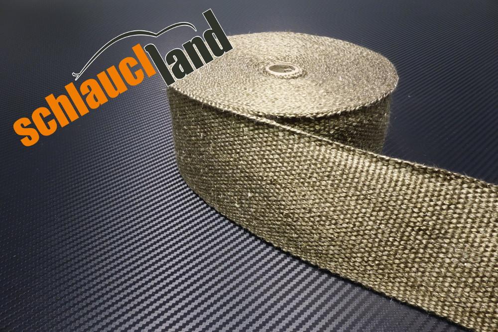 Titan Hitzeschutzband 75mm 1400°C  5,10,15,20,30m