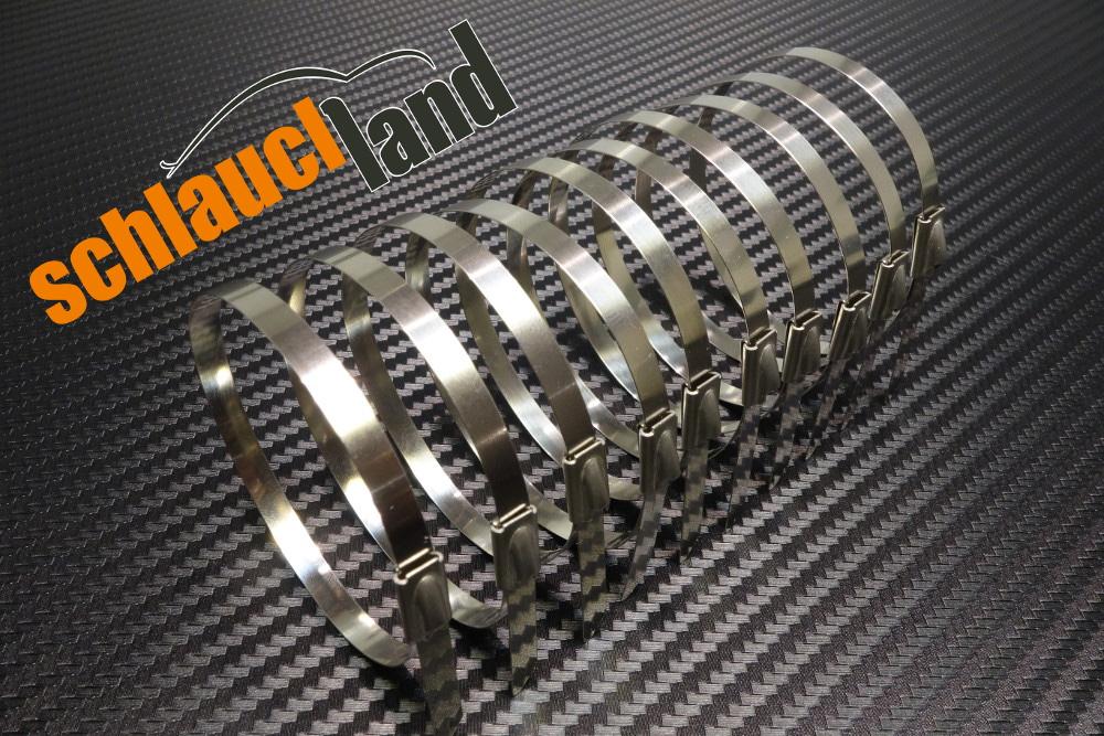 Titan Hitzeschutzband 50mm x 30 Meter + 10 Kabelbinder