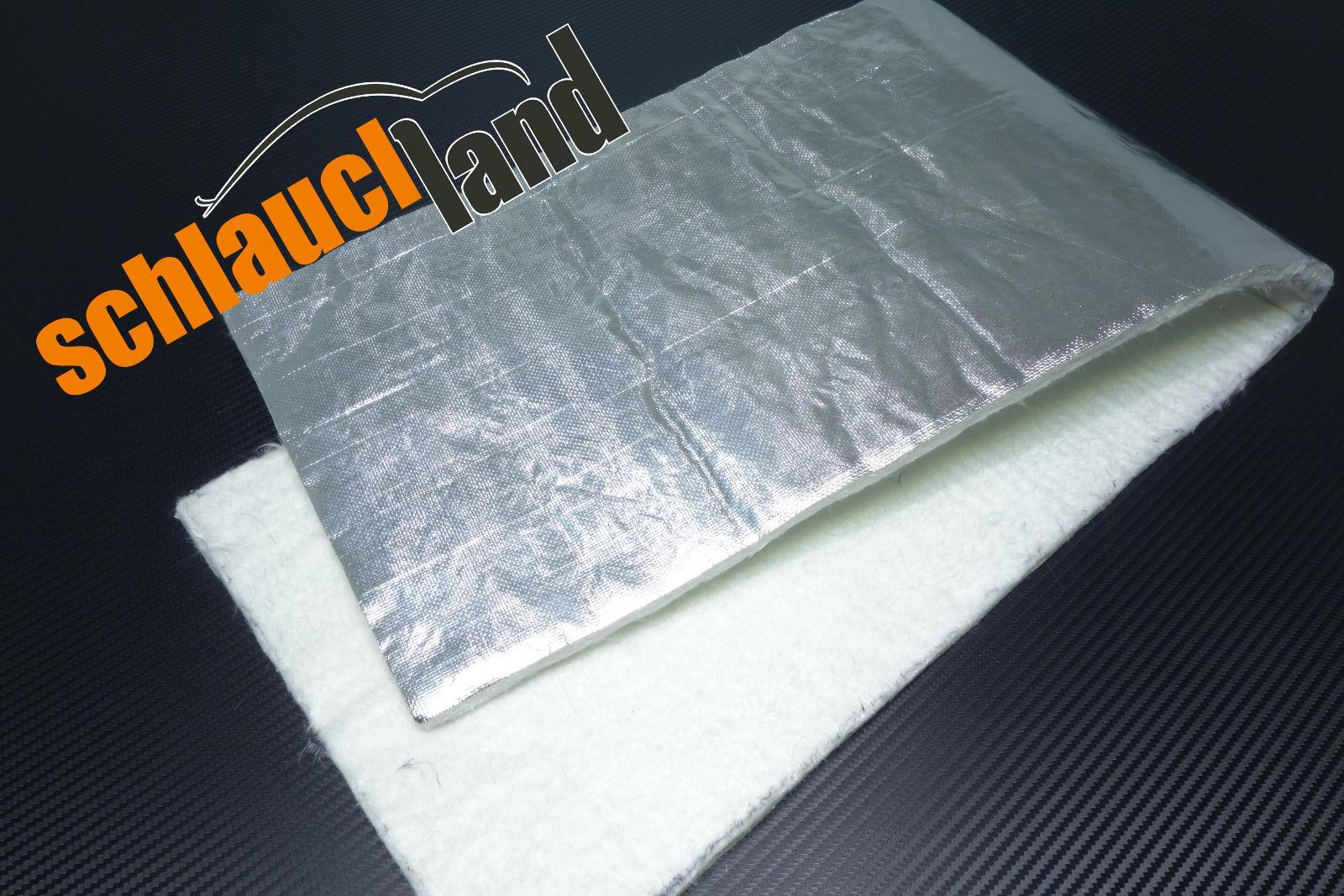 Hitzeschutzmatte 10mm Alu-Keramik  1,0m x 0,5m
