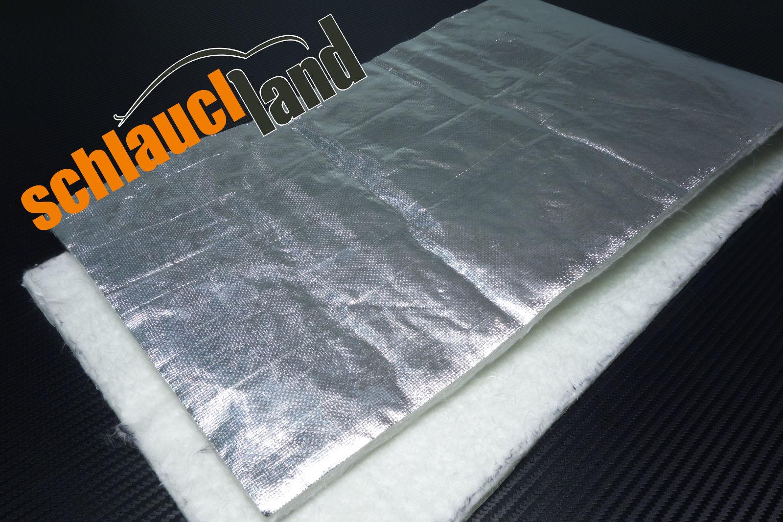 Hitzeschutzmatte 10mm Alu-Keramik  0,5m x 0,5m