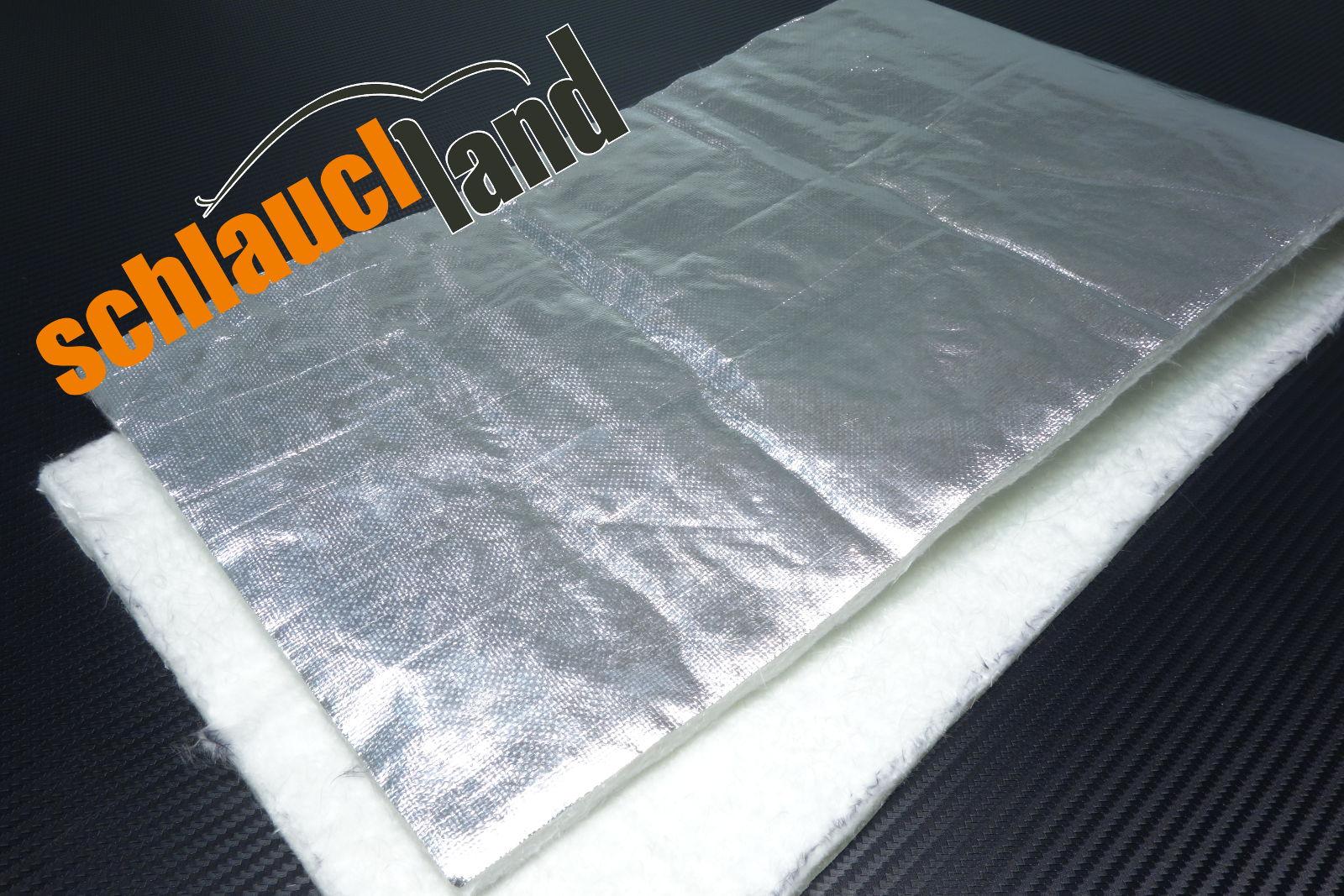 Hitzeschutzmatte 10mm Alu-Keramik  2,0m x 1,0m