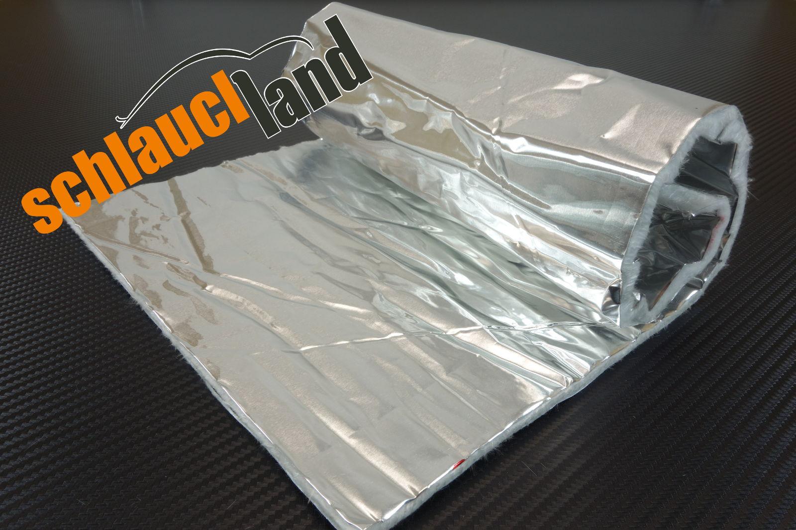 Hitzeschutzmatte 5mm Alu-Keramik Double 1,0m x 1,0m