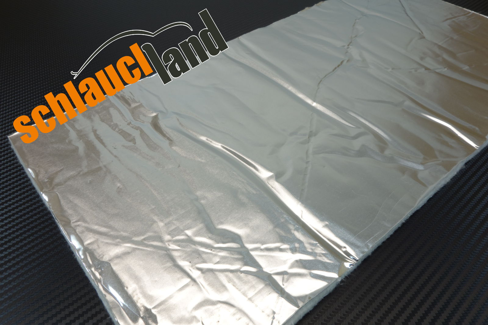 Hitzeschutzmatte 5mm Alu-Keramik Double 1,0m x 0,25m