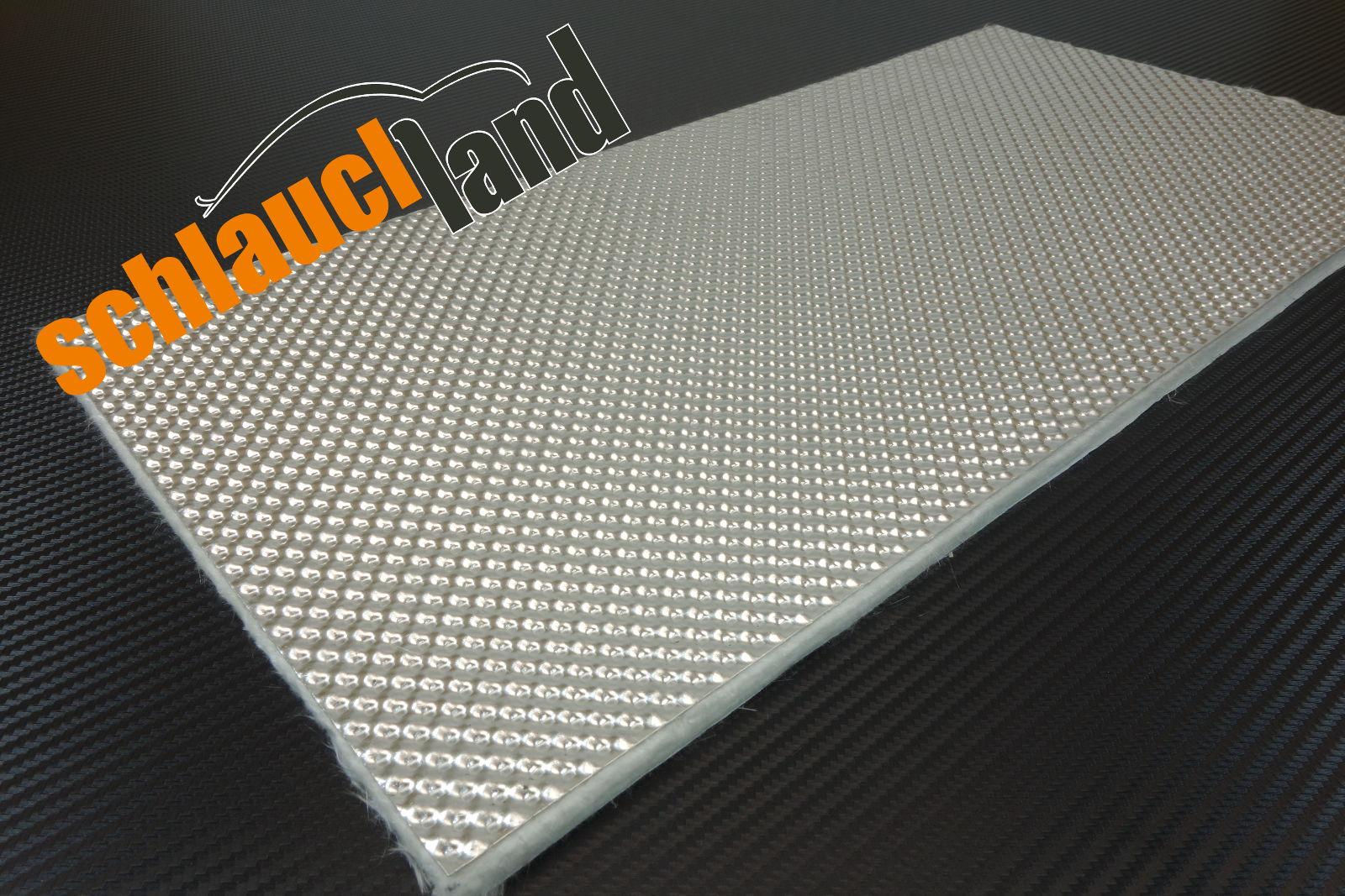 Alu-Keramik Hitzeschutzmatte ULTRA selbstklebend 0,5m x 0,25m