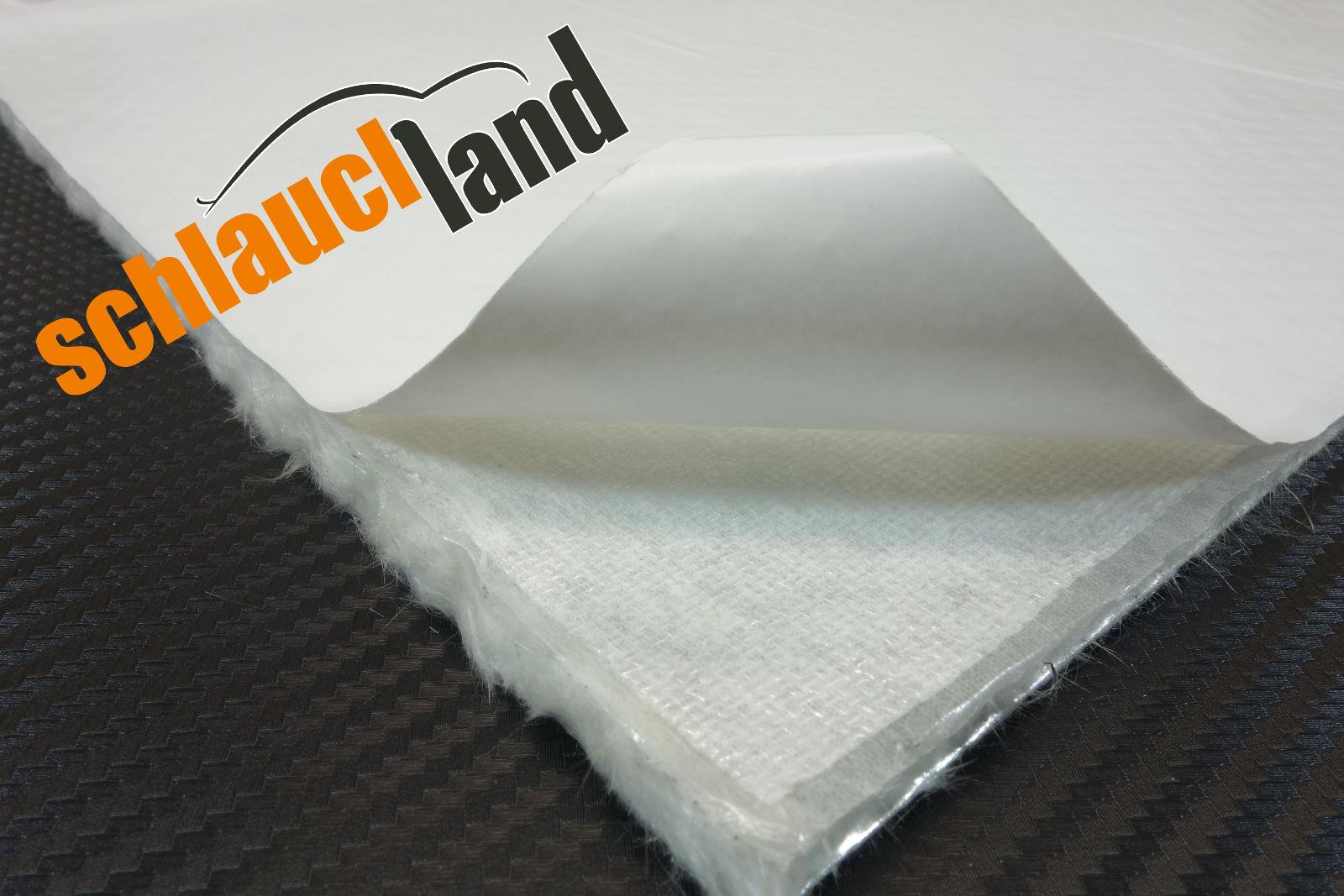Alu-Keramik Hitzeschutzmatte ULTRA selbstklebend 0,5m x 0,5m