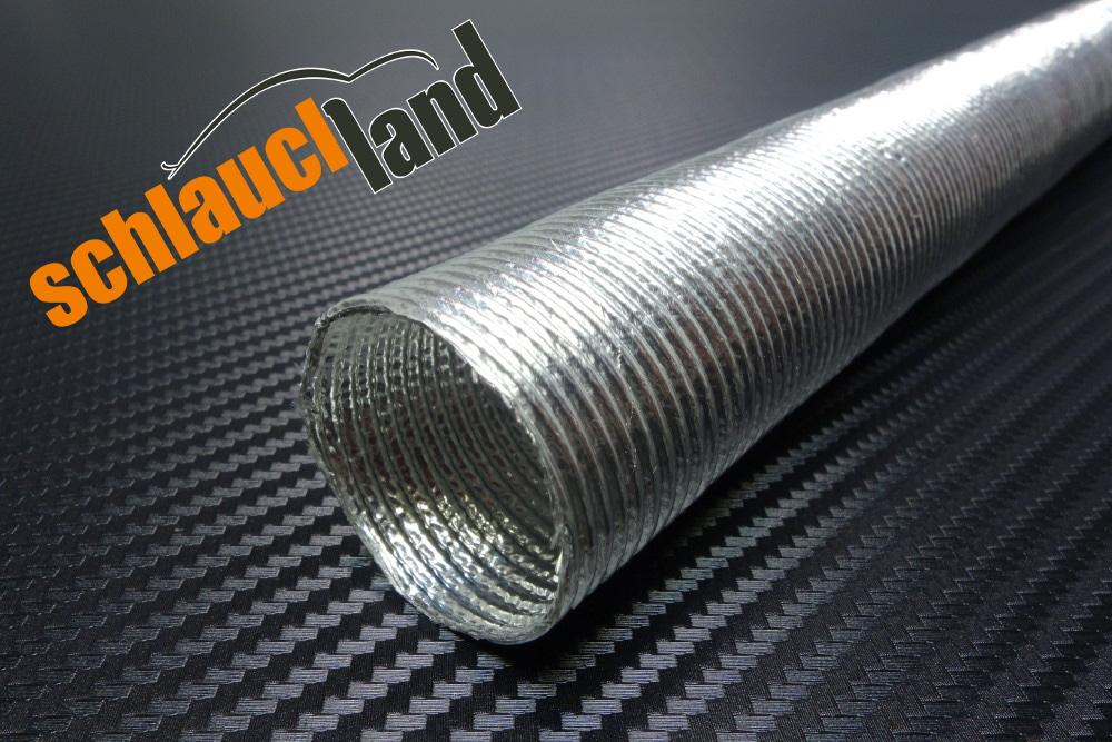 1m Alu-Titan Schutzschlauch selbstklebend ID 30mm ***  Hitze Schutz Schlauch LLK