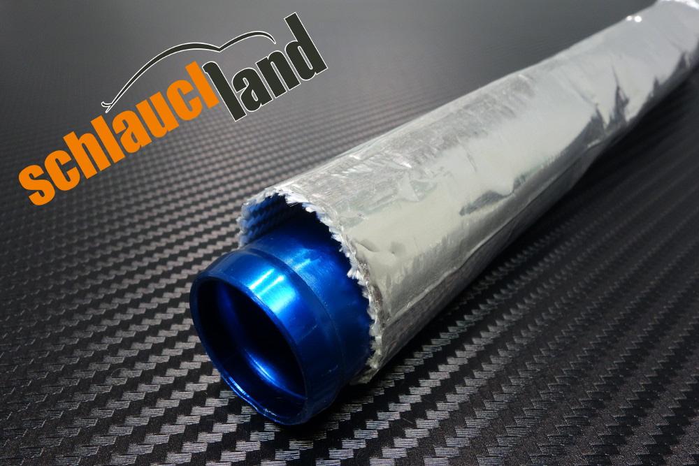 1m Alu-Titan Hitzeschutzschlauch ID 20mm ***Klettverschluss heat sleeve