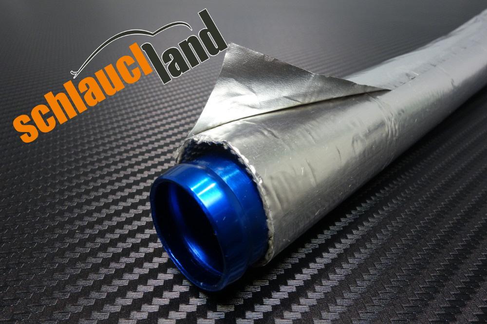 1m Alu-Titan Hitzeschutzschlauch selbstklebend verschied. Größen