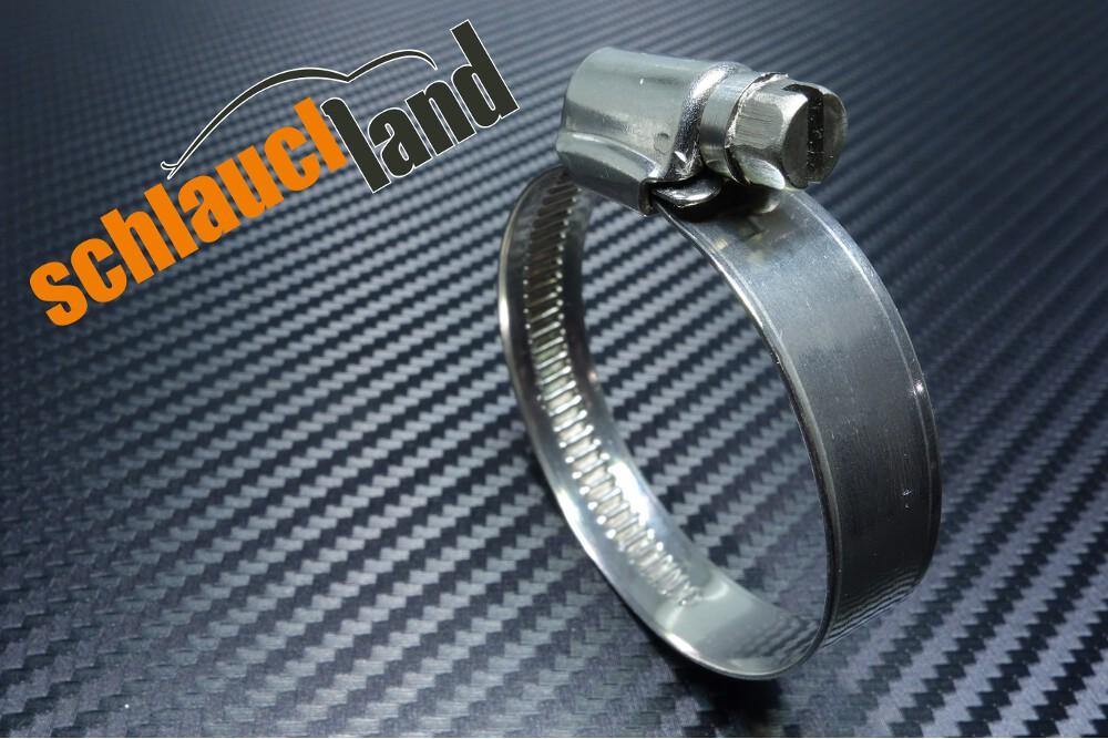 Edelstahlschelle W4 12mm 1,10,20,50,100 Stck 12-130mm*** Schlauchschelle V2A