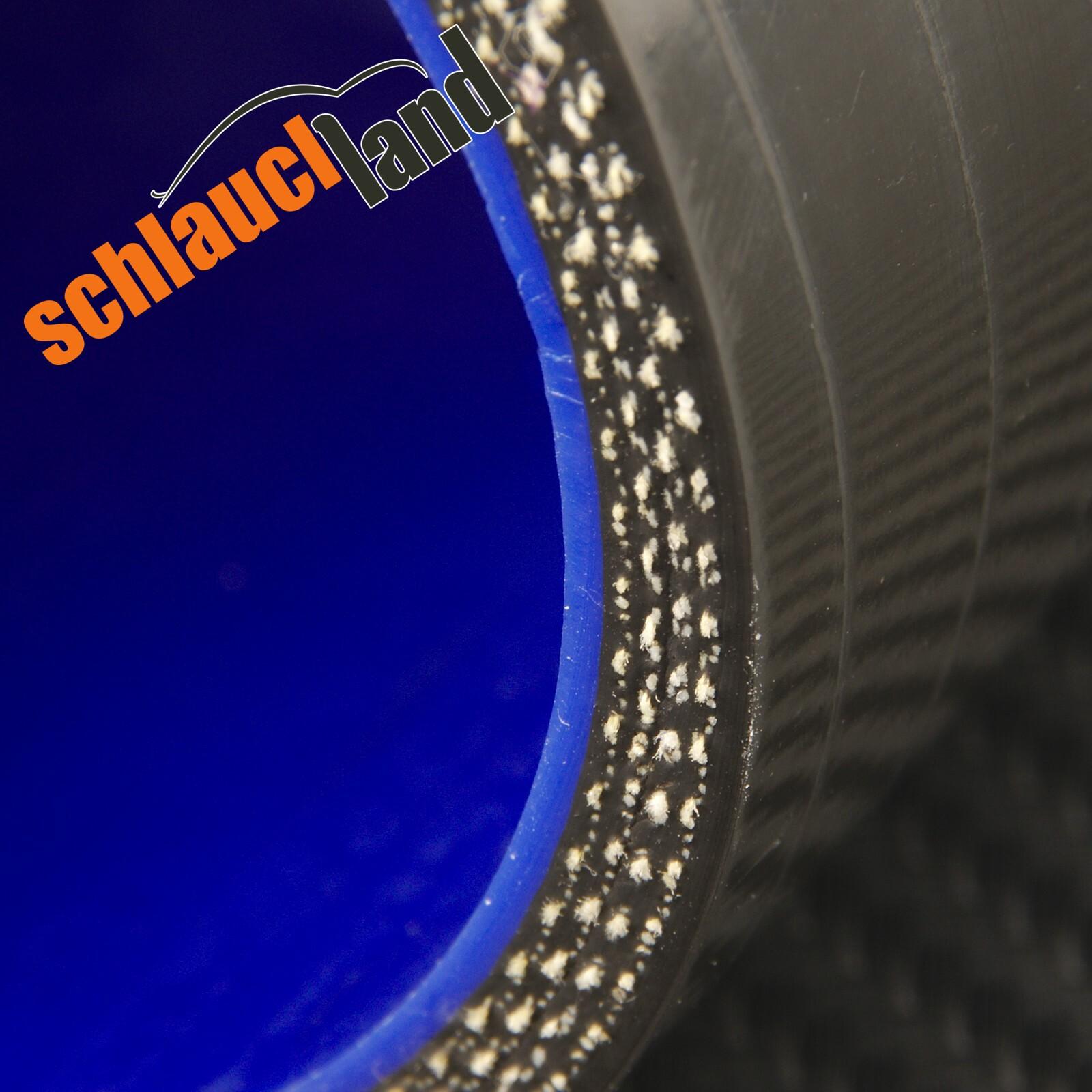 Silikonbogen 90° Innendurchmesser 70 mm / Schwarz