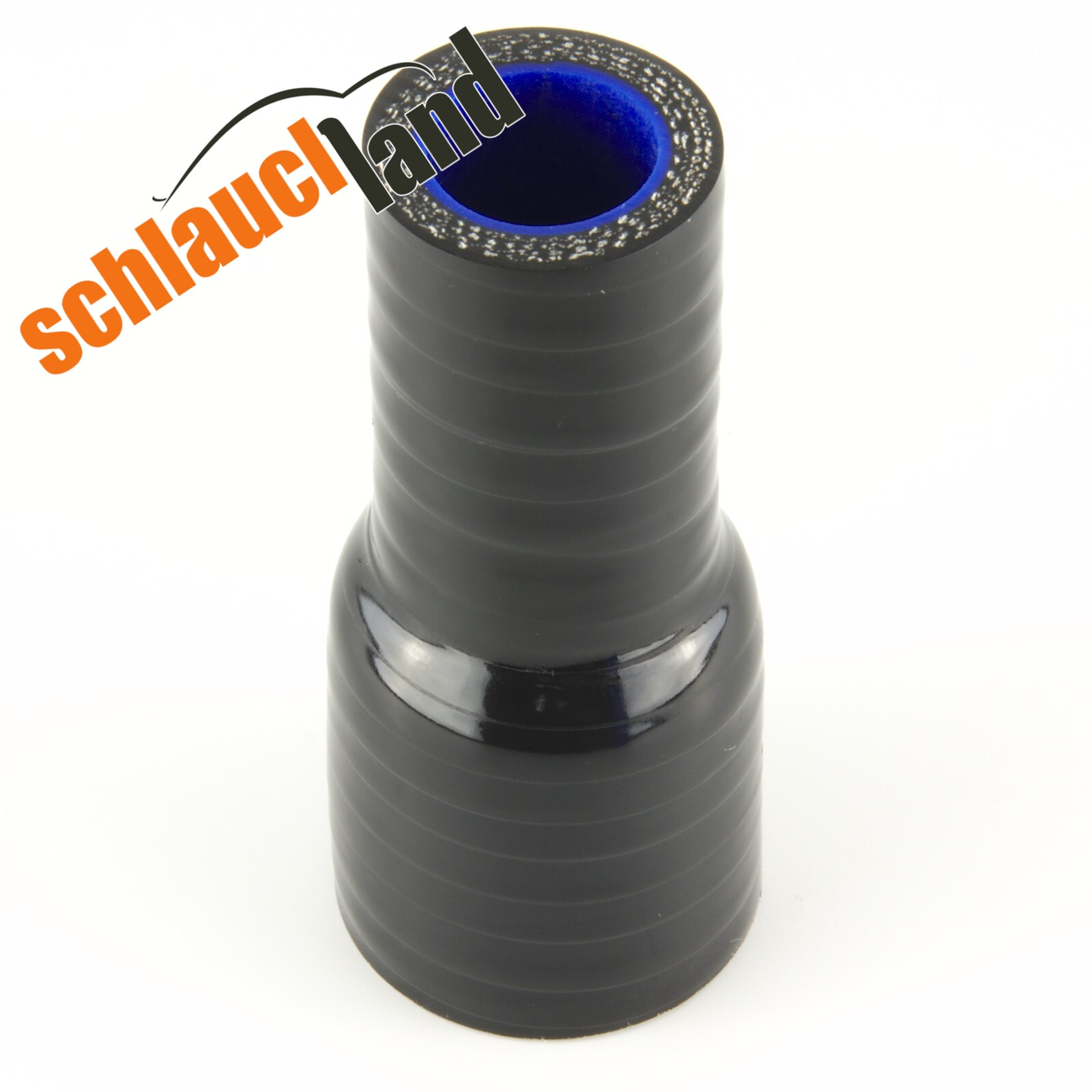 Silikon-Reduzierstück ID 76-70 mm / Schwarz