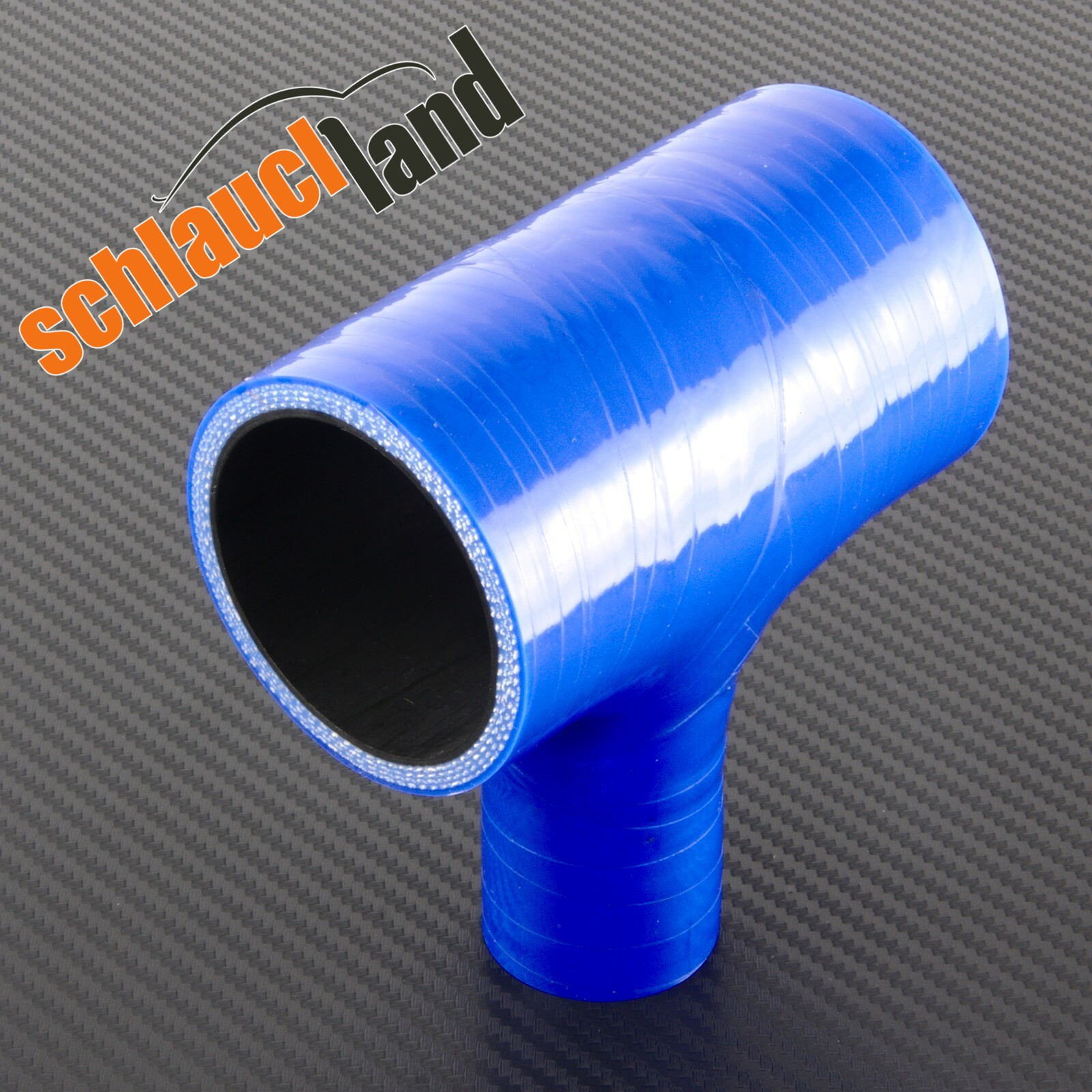 90/° Silikon-Reduzierbogen ID 45-30mm blau*** Silikonschlauch Turboschlauch Reduzierst/ück