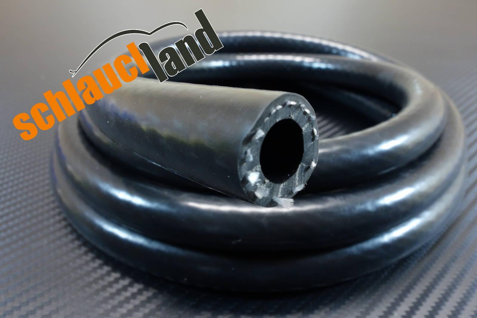 Silikon-Schlauch VARIO schwarz ID 8 mm