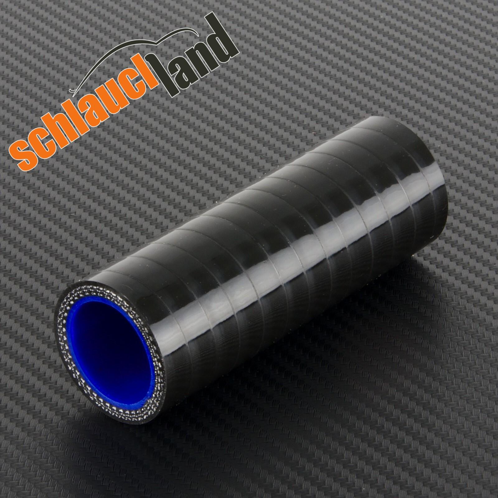 Silikon-Verbinder Innendurchmesser 34mm / Schwarz