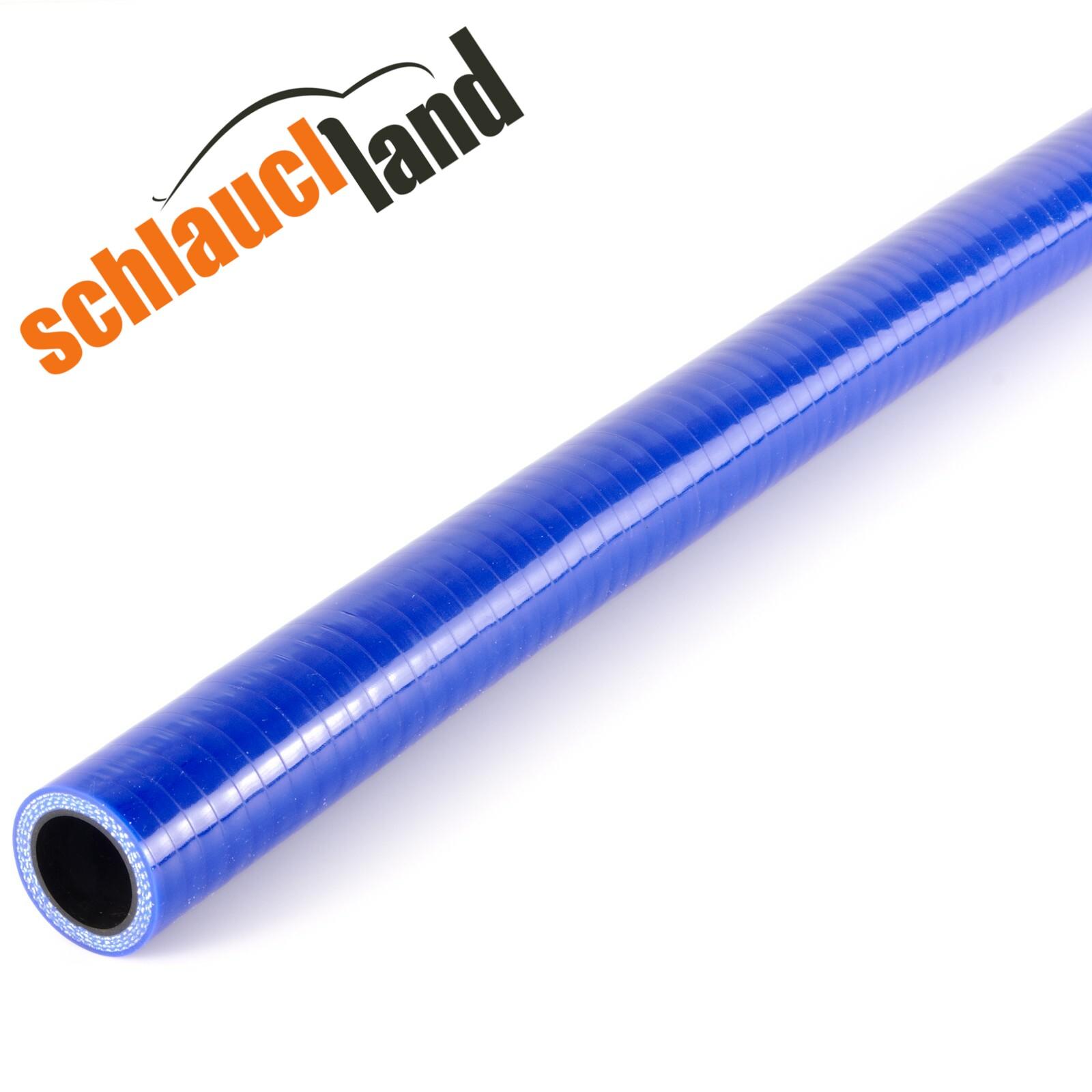 1,00m Silikon-Schlauch Innendurchmesser 11mm / Blau