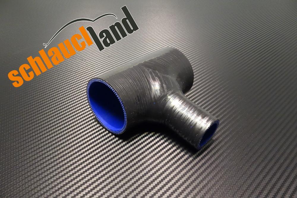 T-Stück Innendurchmesser 90 mm / Schwarz