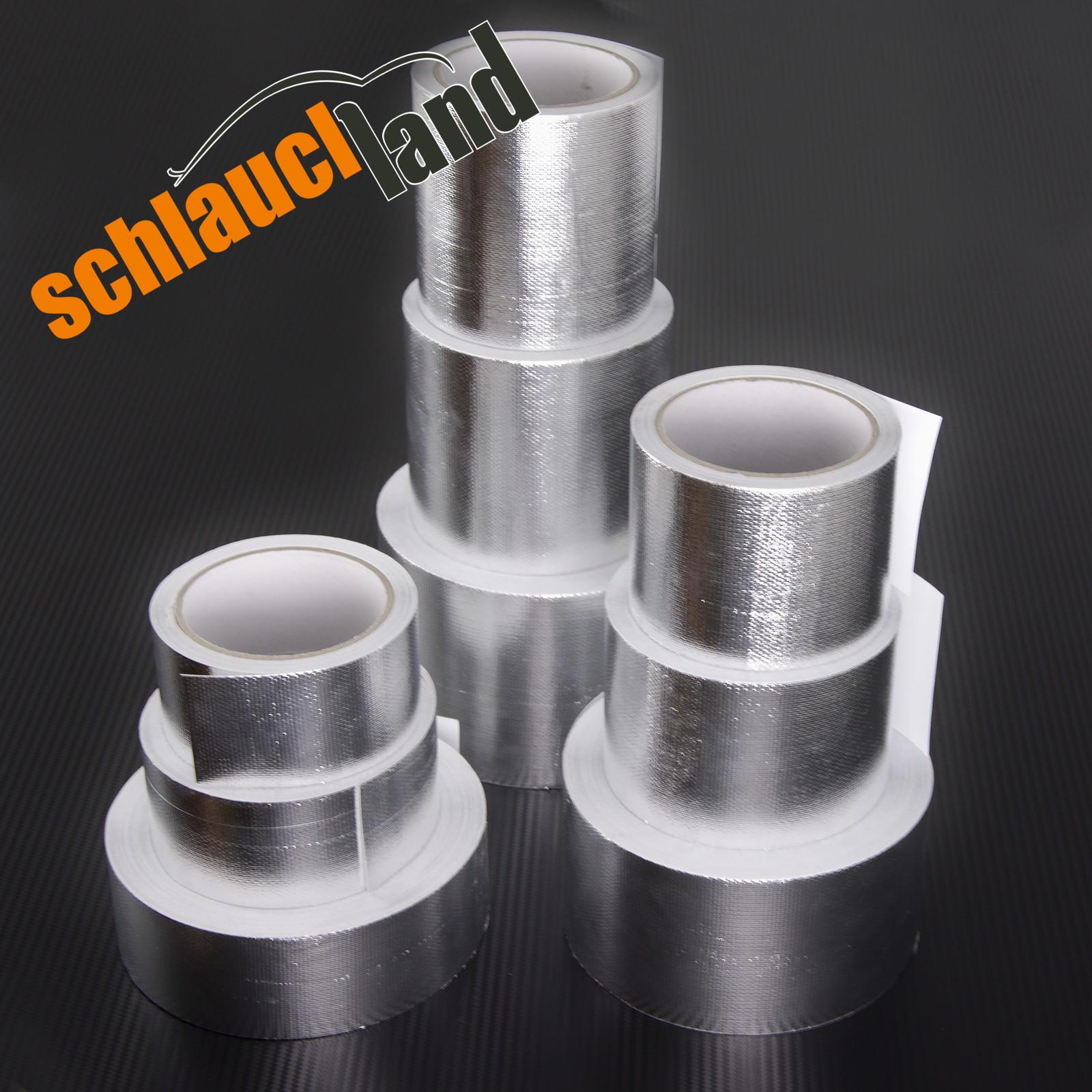 Aluminium Klebeband Fiberglas Gewebe verstärkt PROTECTOX